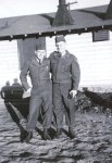 Ed Albrecht and buddy in army